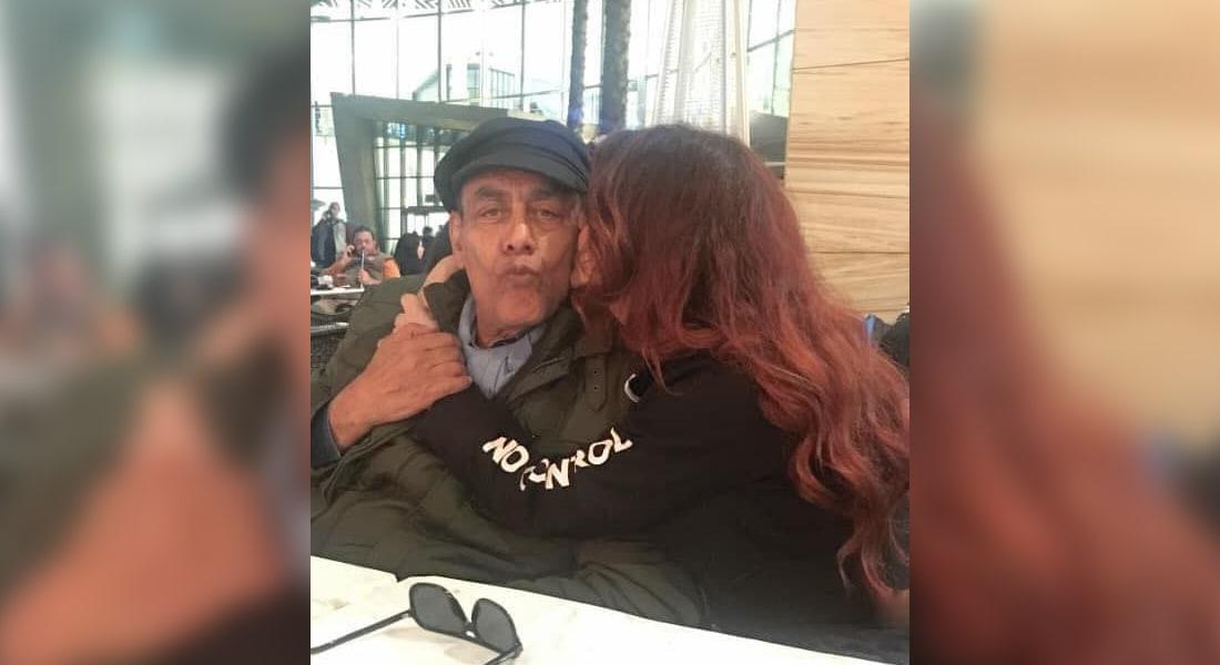 صورة نشرتها سارة مع والدها أحمد بدير على فيسبوك