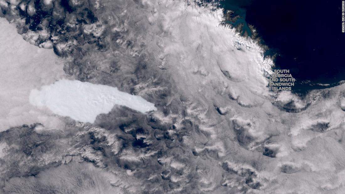 تزن مئات المليارات من الأطنان..كتلة جليدية هائلة تهدد حياة البطاريق بجنوب المحيط الأطلسي