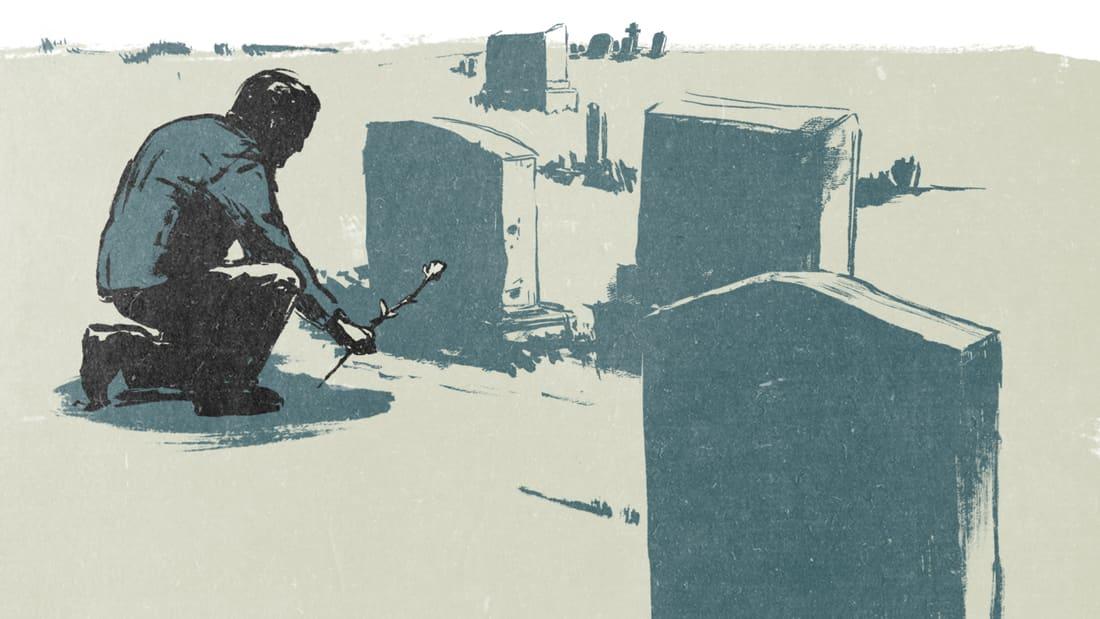 """""""التواصل ما بعد الموت""""..ما حقيقة وداع أشخاص لأحباء فقدوهم بسبب كورونا؟"""