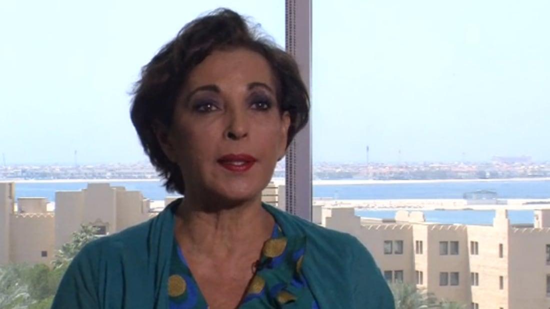 """راغدة درغام لـCNN:""""بيروت انستيتيوت"""" منبر يزيل عنا سمعة الإرهاب"""