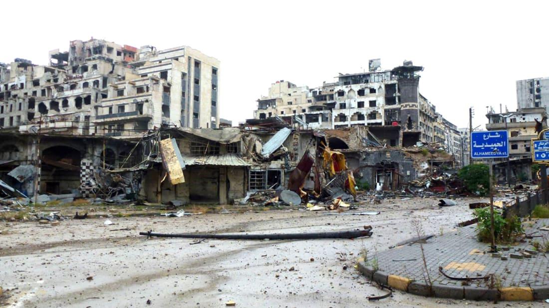 انفجار بفندق في حلب يقتل 14 جندي من قوات بشار الأسد