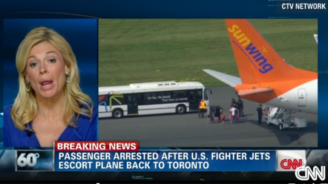 """والد كندي اعتقلته قوة """"سوات"""" داخل طائرة: ابني مريض نفسيا"""