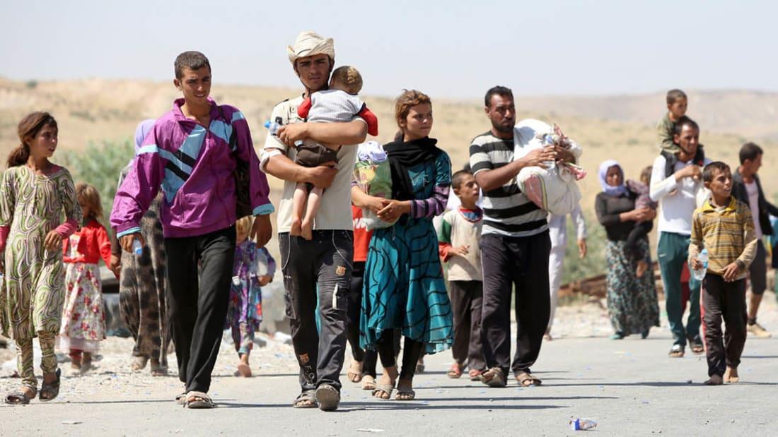 رحلة الفرار من داعش لا يكملها الأطفال لأنهم يموتون جوعا وعطشا