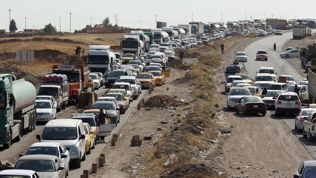 داعش تنشر مقاطع تحقيقات مع حرس حدود شيعة قبل تصفيتهم