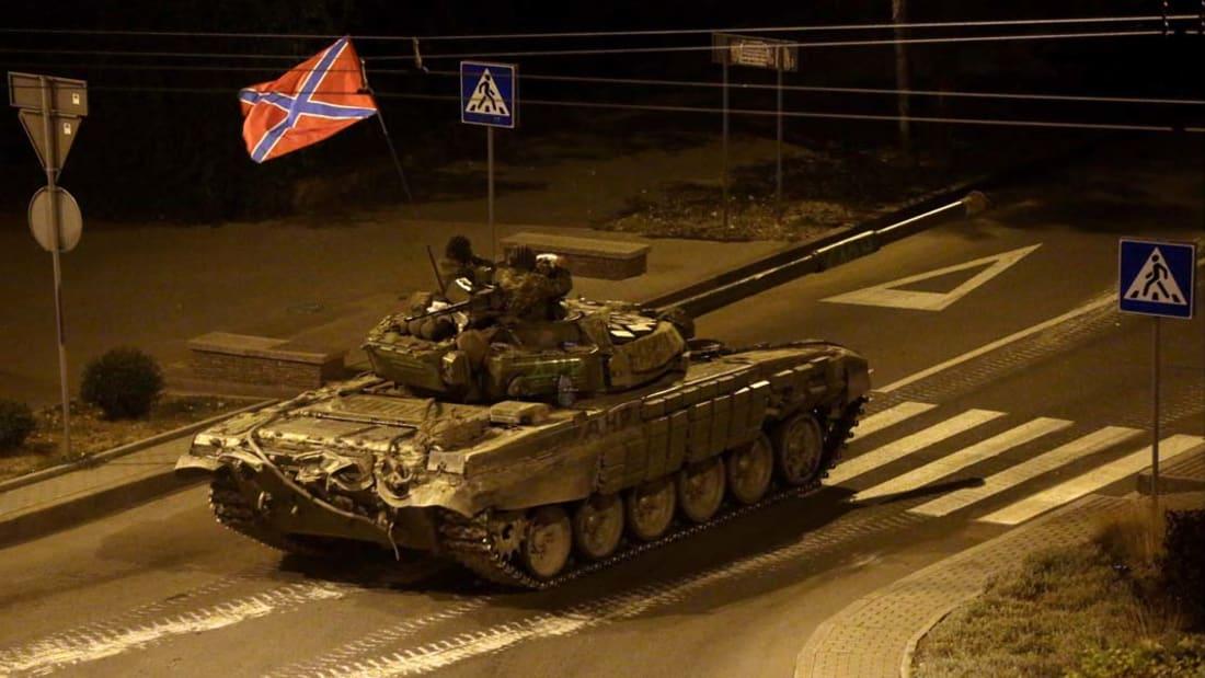 بالفيديو.. معارك طاحنة في شوارع دونيتسك بأوكرانيا