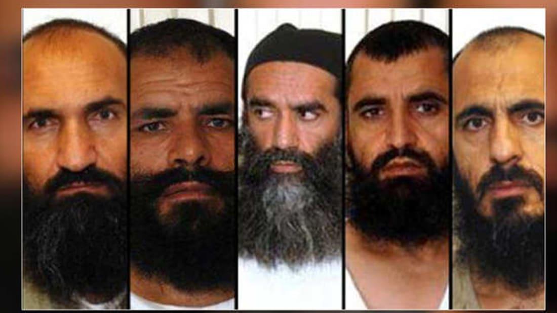 """فيديو تسليم طالبان الجندي """"بيرغدال"""" للقوات الأمريكية"""