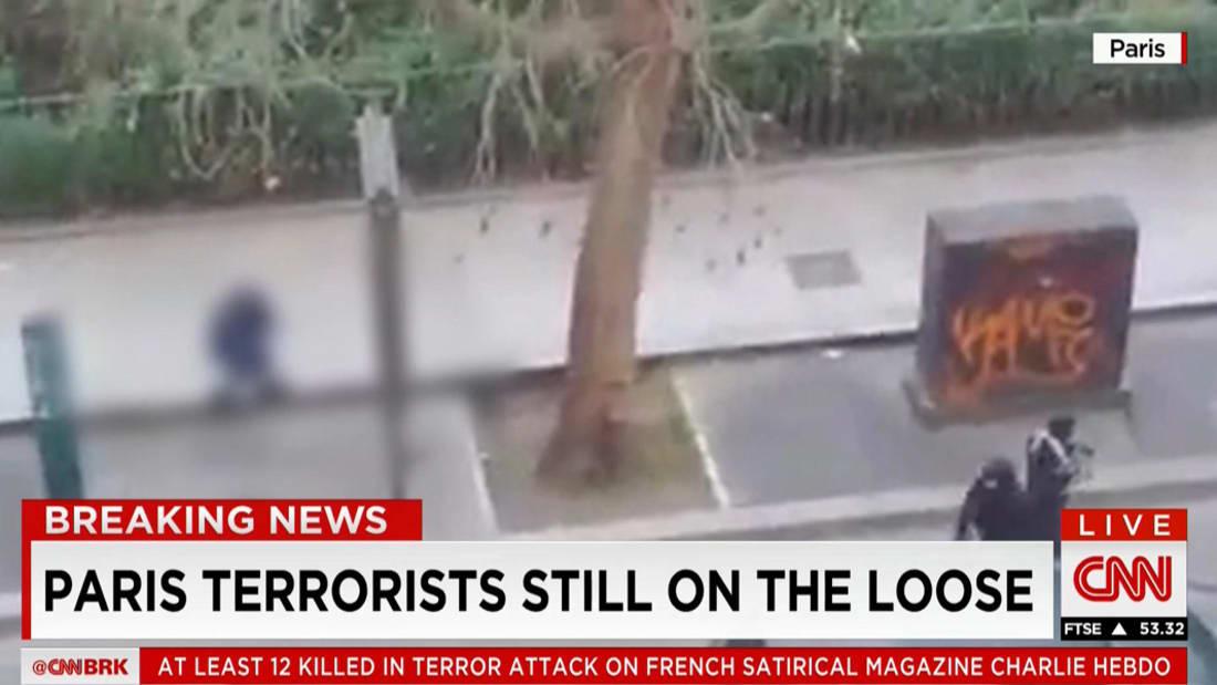 """فيديو إطلاق النار على مجلة """"تشارلي إيبدو"""" الساخرة في باريس"""