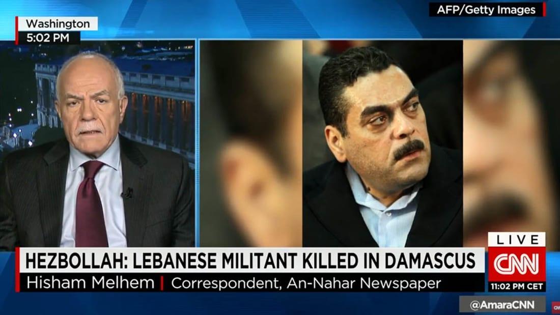 لقطات من جنازة سمير القنطار أحد قيادي حزب الله بعد مقتله بسوريا
