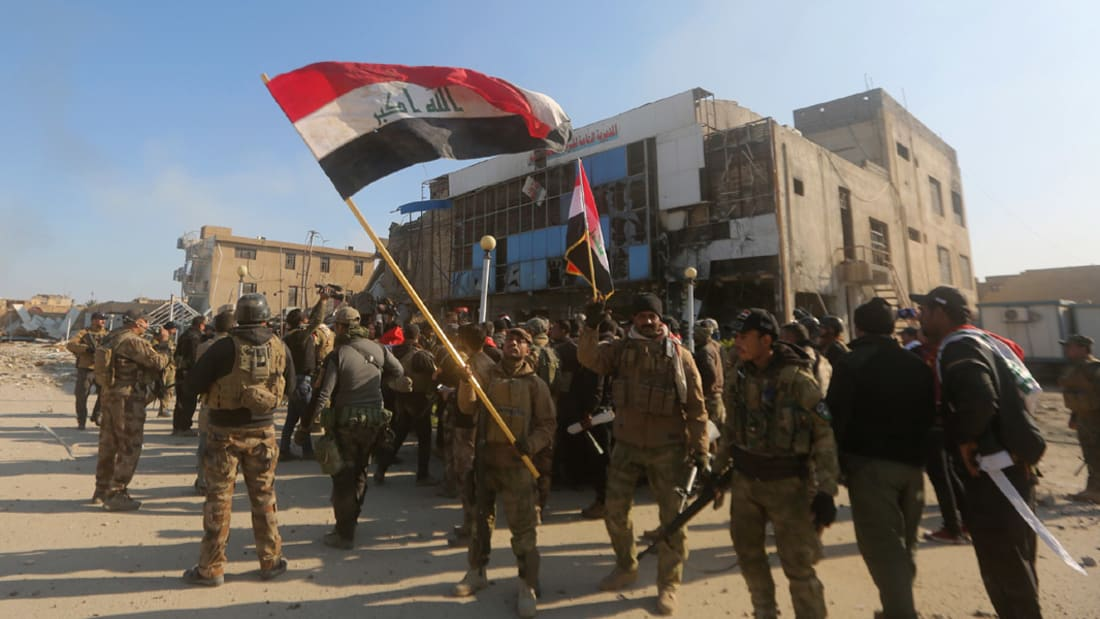 بالفيديو: المتحدث باسم الجيش العراقي يؤكد تحرير الرمادي من داعش ورفع العلم العراقي