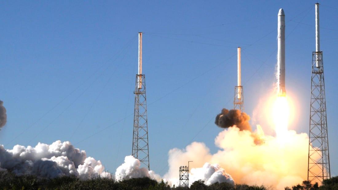 """إطلاق ناجح لصاروخ فالكون 9 ينتهي بـ """"هبوط كارثي"""""""