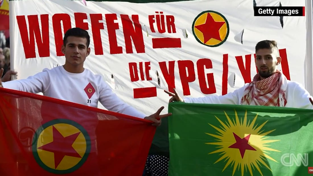 """فقط على CNN: الأكراد يقفون في ظلال """"عاصمة دولة الخلافة"""".. وكاميرا شبكتنا في الرقة"""