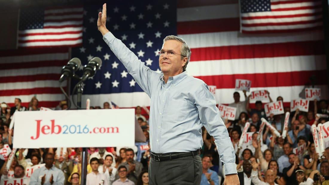 جيب بوش لـCNN: لا أحترم بوتين وروسيا ليست قوة إقليمية وترامب متنمر