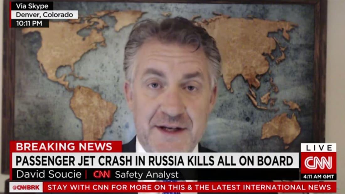 """فيديو جديد من داخل المطار يُظهر لحظة سقوط طائرة """"فلاي دبي"""" في روسيا"""