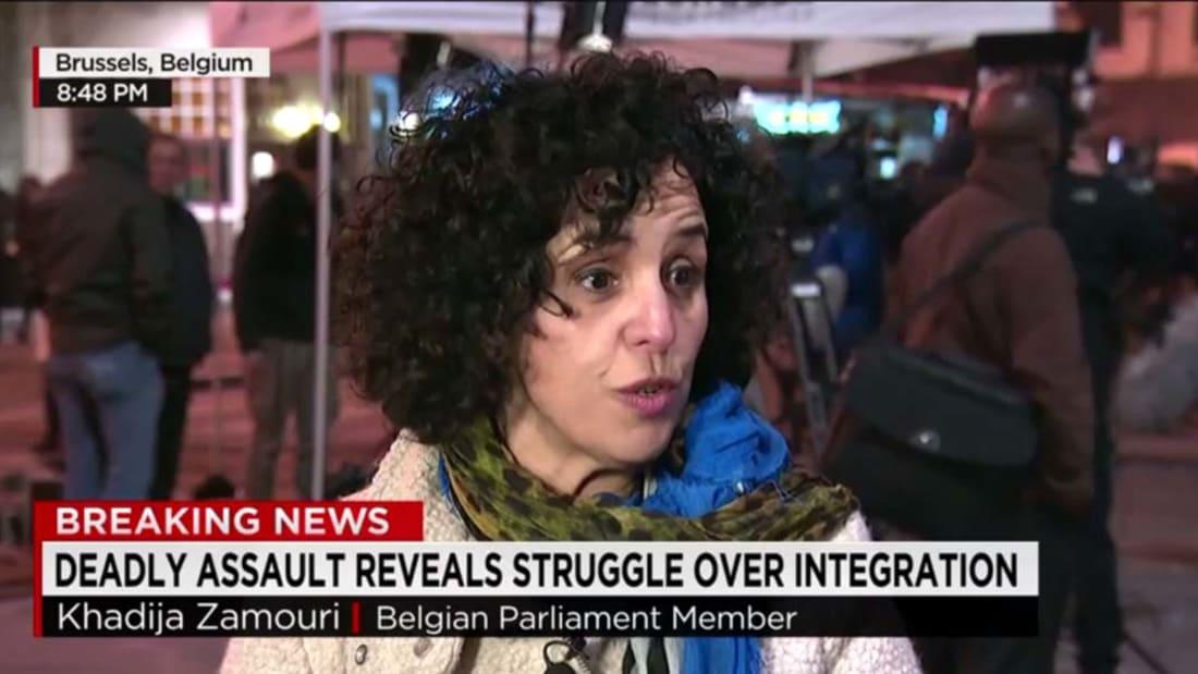 بالفيديو: صراخ وعويل يملأ قاعات مطار بروكسل بعد تفجيرين أسقطا عشرات الضحايا