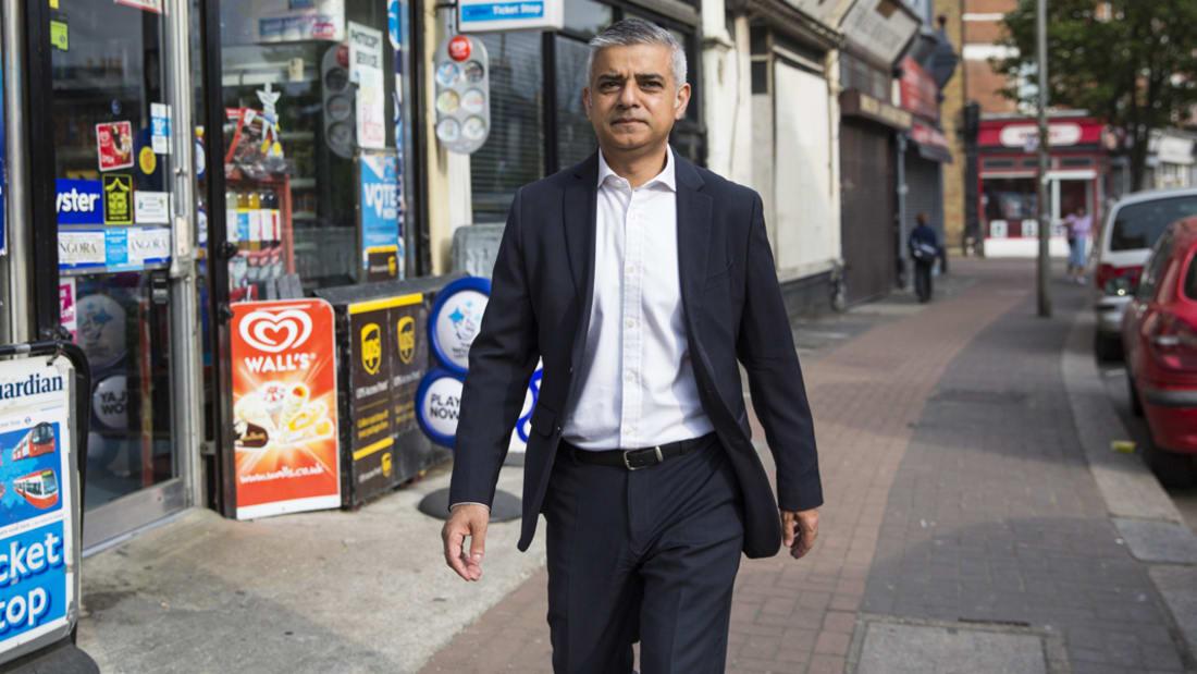 بالفيديو: مسلم ابن سائق حافلة يقود لندن