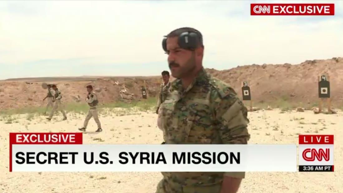 فيديو تنفرد به CNN من شمال سوريا: مستشارون أمريكيون يدربون قوات سورية لقتال داعش