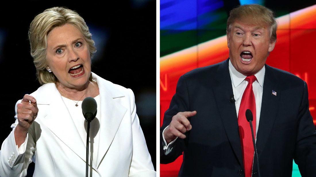 نوبة سعال قوية تصيب كلينتون أمام الحشود.. والمرشحة: عفوا.. حساسيتي من ترامب هي السبب!