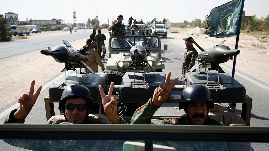 CNN ترافق القوات العراقية خلال الاستعداد لمعركة الموصل