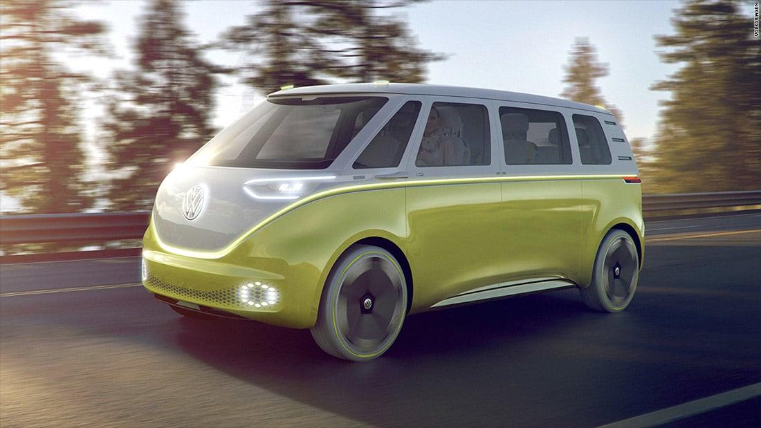 """بعجلات ملونة.. إليكم سيارة """"فولكس فاغن"""" الكهربائية"""