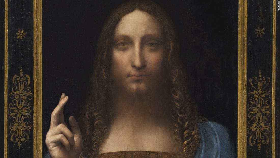 """لوحة دافينشي """"مخلص العالم"""" تُباع بـ450 مليون دولار"""