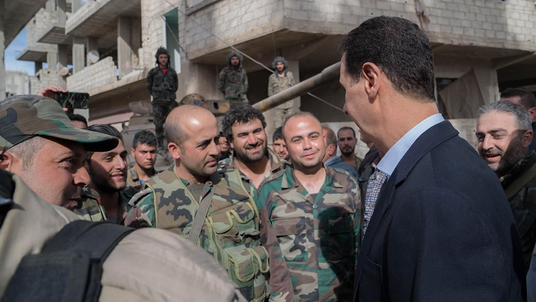 النظام السوري يقسّم الغوطة الشرقية المحاصرة إلى ثلاثة أقسام