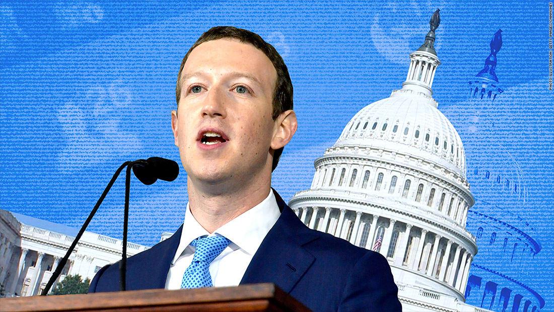 زوكربيرغ حصرياً عبر قناة CNN: هكذا سنسترجع ثقة مستخدمي فيسبوك