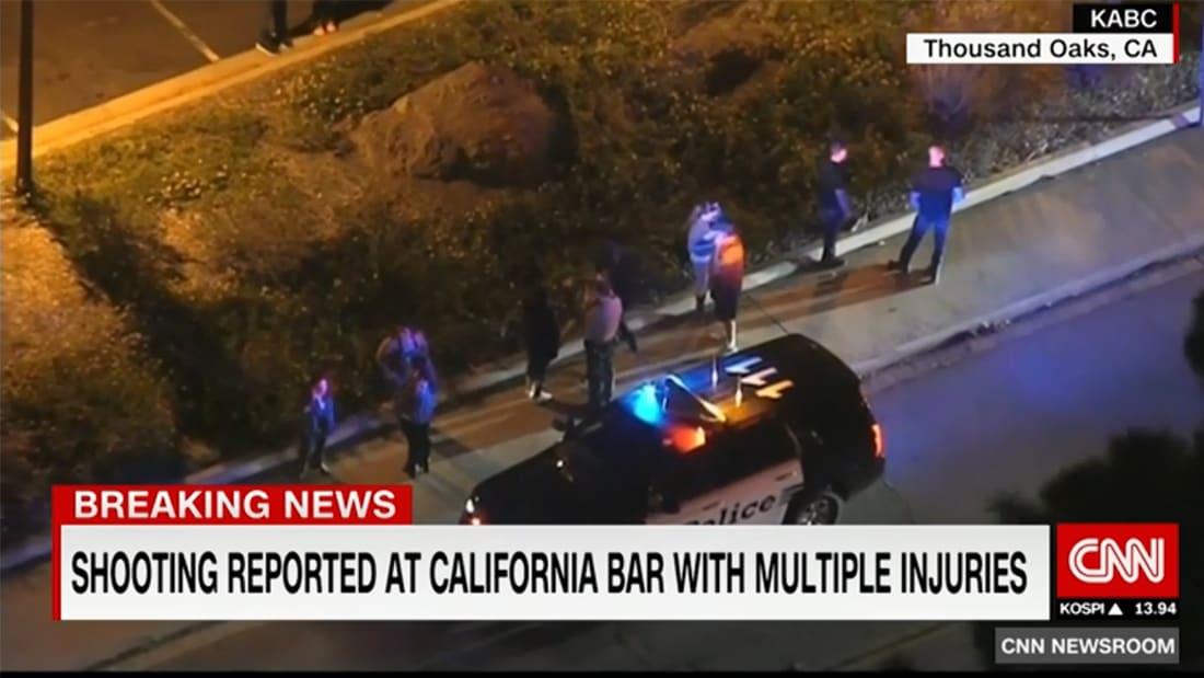 إطلاق نار بأمريكا.. الشرطة تطوق الموقع وناجون يواسون بعضهم