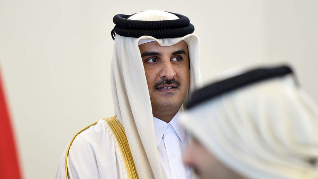 أمير قطر لـ CNN: نعرف المتطرفين وليس كل من يأتي من خلفية إسلامية إرهابيا