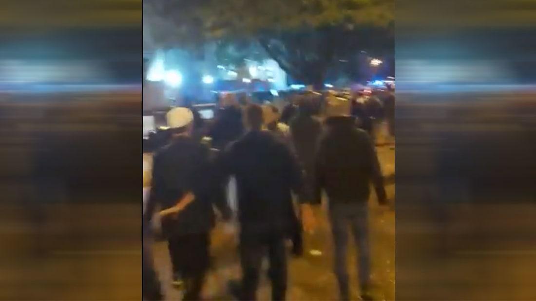 لقطات من اشتباكات عنيفة بين المحتجين وقوى الأمن اللبناني