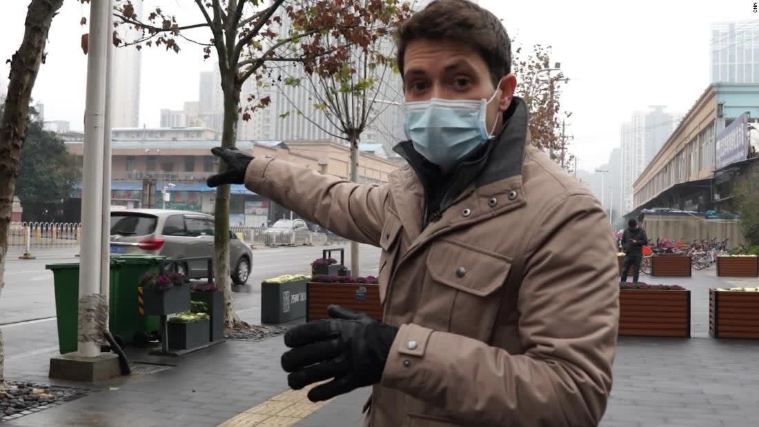 """CNN تذهب إلى مصدر تفشي فيروس """"ووهان"""" في الصين"""