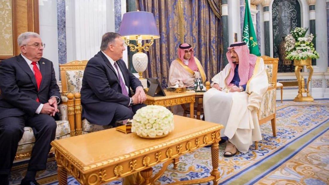 بومبيو يؤكد قدرة بناء تحالف بحري في الخليج: احموا مصالحكم