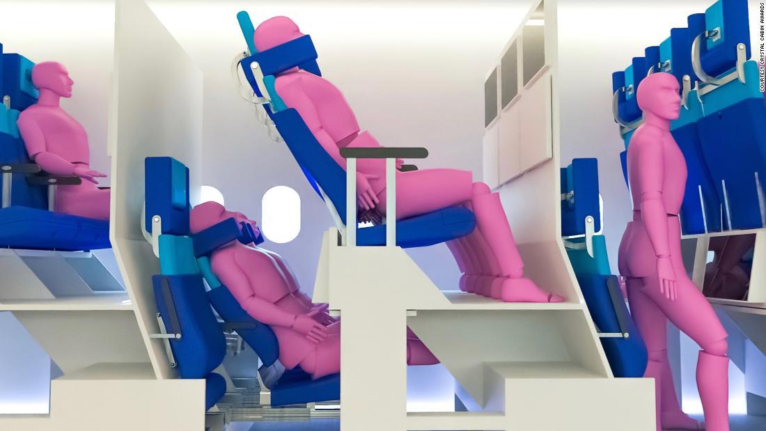 هكذا قد تكون المقاعد.. تصاميم داخلية للطائرات تعطي لمحة عن مستقبل السفر الجوي