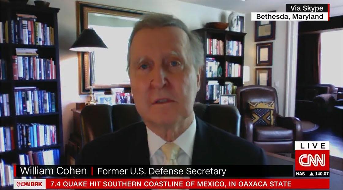 ويليام كوهين، وزير الدفاع الأمريكي الأسبق