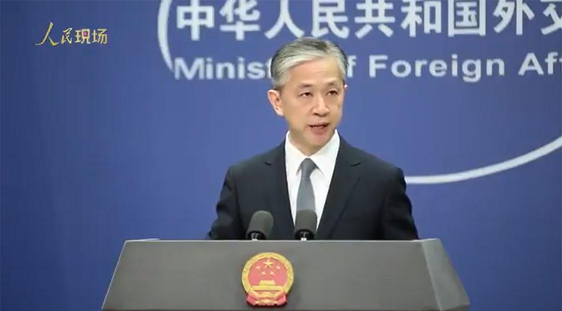وانغ وينبين، المتحدث باسم وزارة الخارجية الصينية