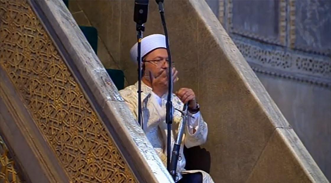 رئيس الشؤون الدينية التركي، علي أرباش