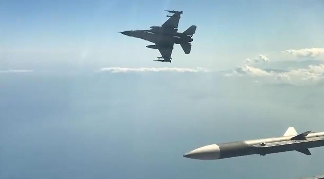 من التدريبات العنسكرية الجوية التركية شرق المتوسط