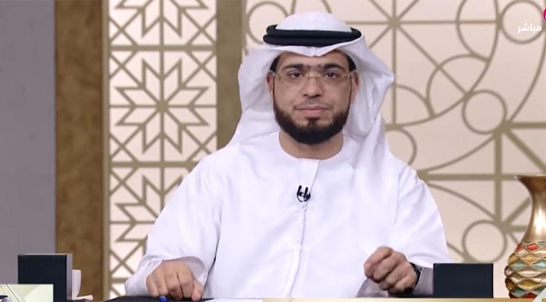 صورة أرشيفية من برنامج تلفزيوني لوسيم يوسف على قناة أبوظبي