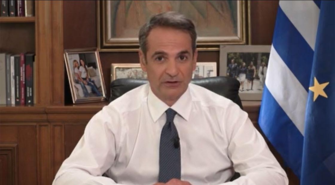رئيس الوزراء اليوناني، كرياكوس ميتسوتاكيس