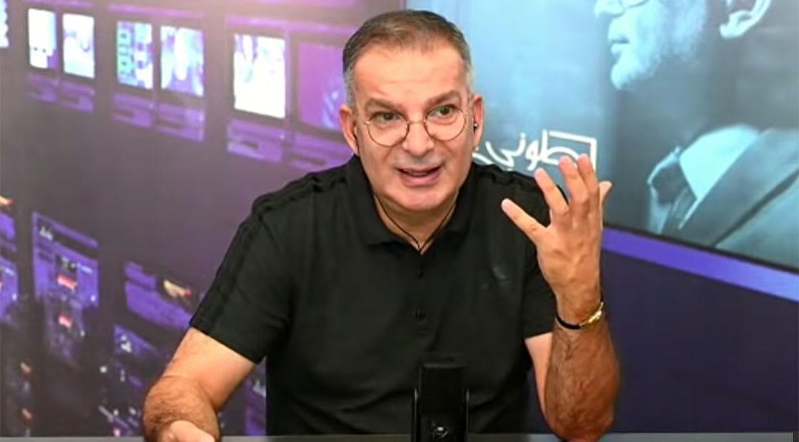 الإعلامي اللبناني توني خليفة