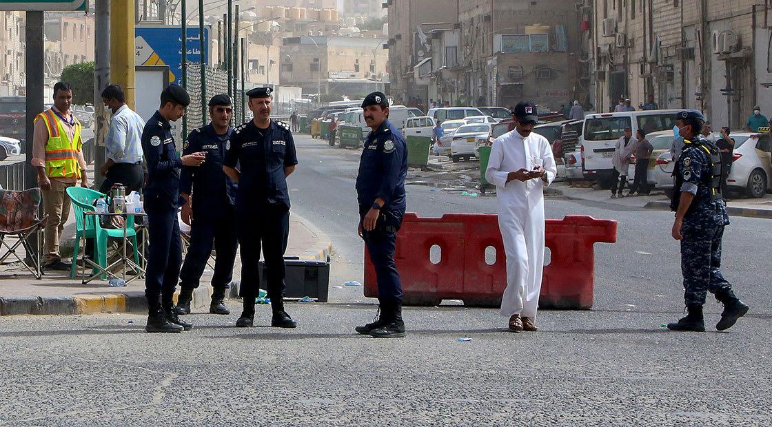 صورة ارشيفية لعناصر من الأمن الكويتي