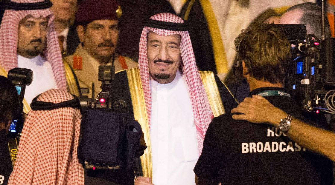 صورة أرشيفية للعاهل السعودي الملك سلمان 2014
