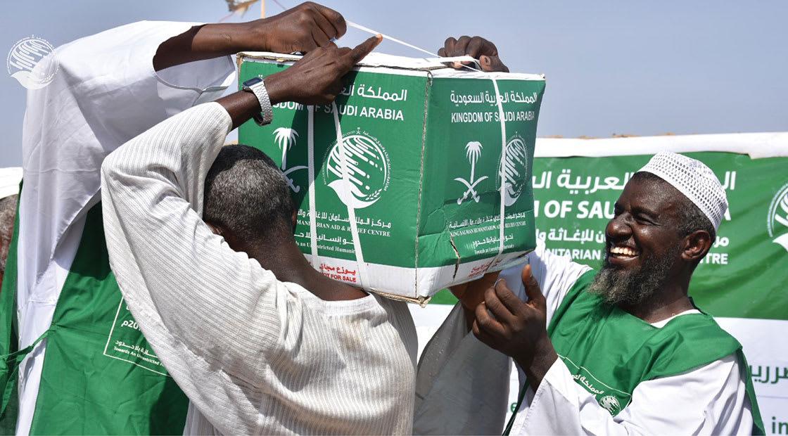من المساعدات التي يقدمها مركز الملك سلمان للإغاثة في السودان