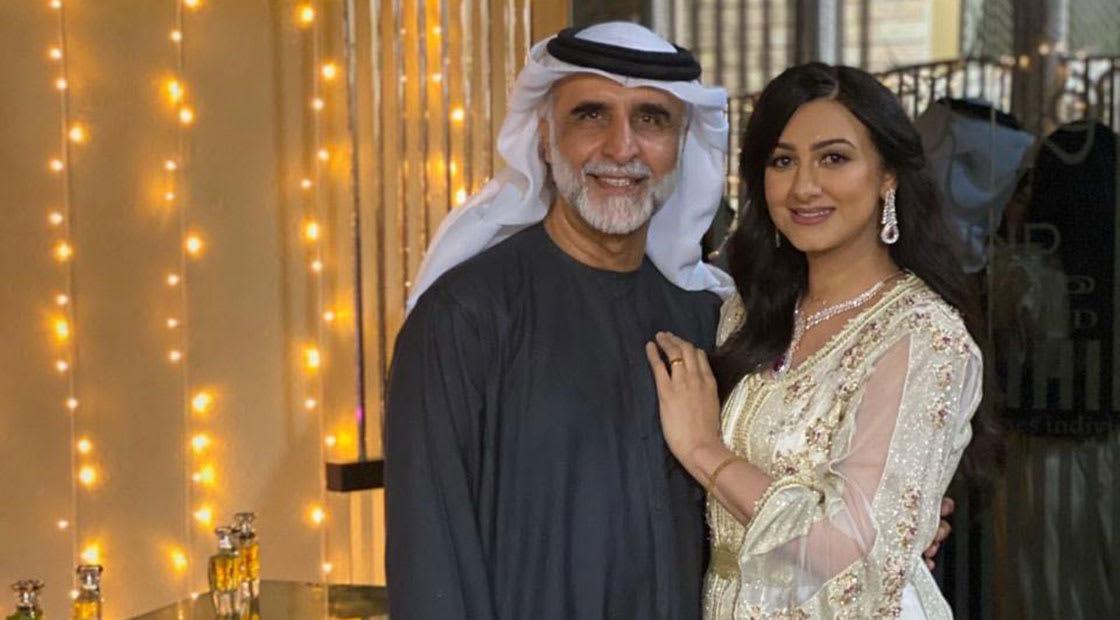 هيفاء حسين وزوجها