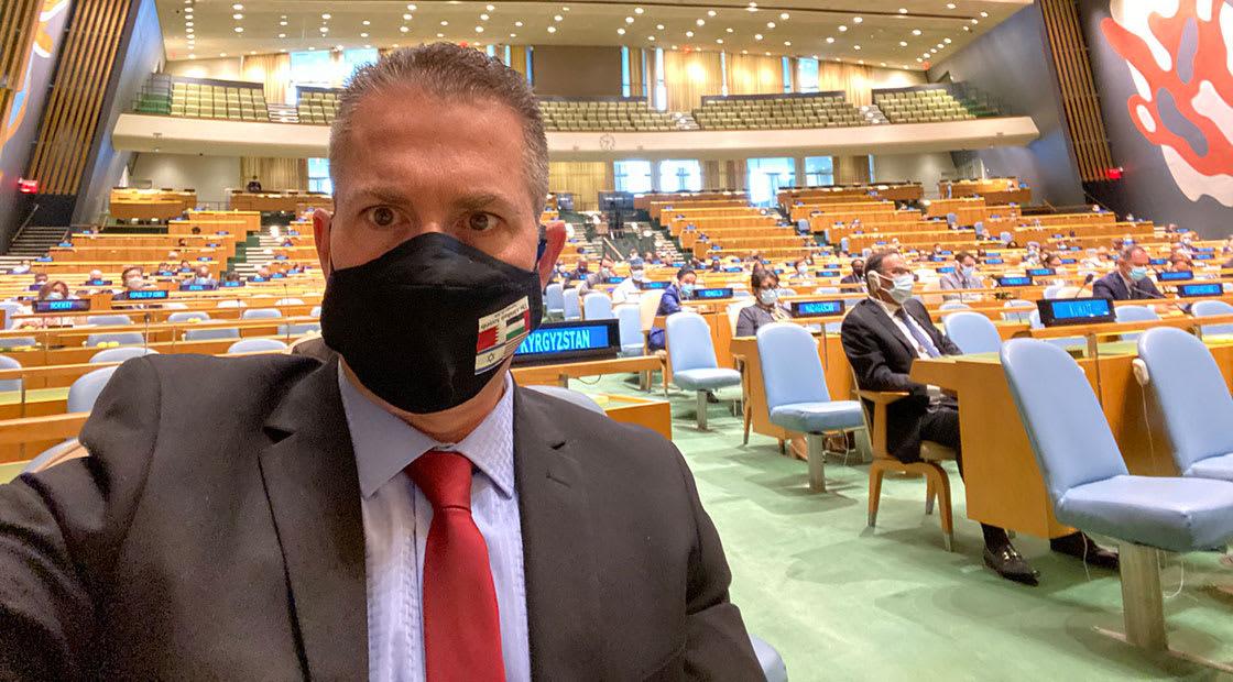 جلعاد أردان مندوب إسرائيل لدى الأمم المتحدة