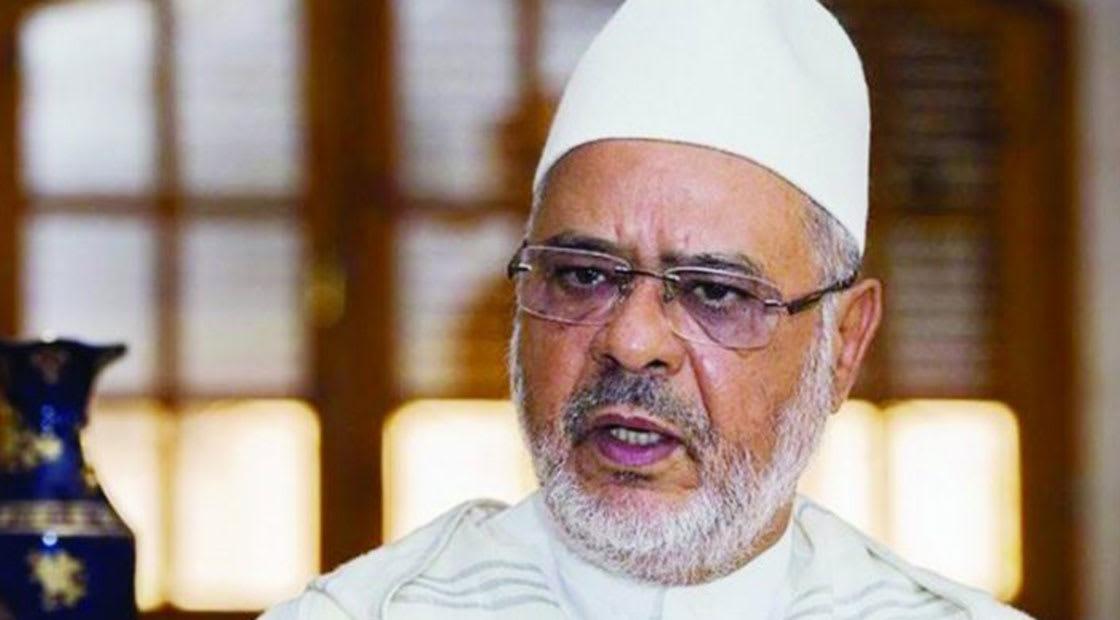أحمد الريسوني رئيس الاتحاد العالمي لعلماء المسلمين