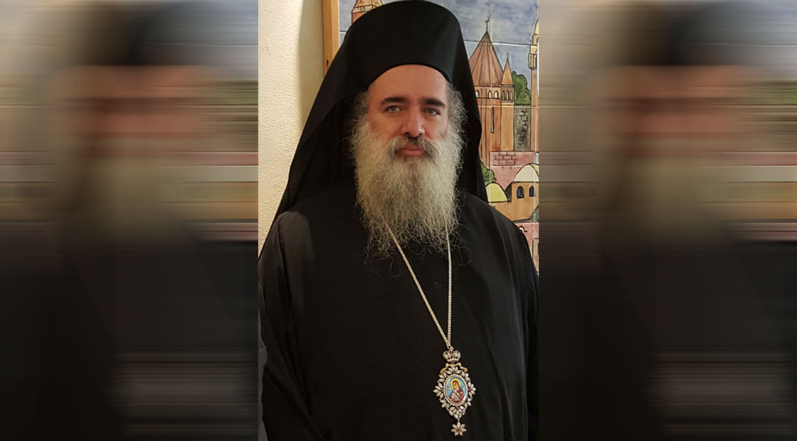 المطران عطالله حنا، رئيس اساقفة سبسطية للروم الأرثوذكس في القدس