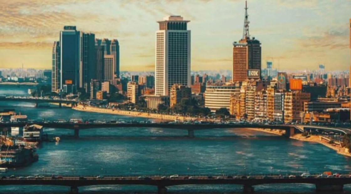 صورة ارشيفية عامة من القاهرة يظهر فيها مبنى الخارجية المصرية