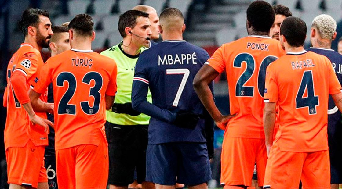 صورة من المباراة نشرها نادي باريس سان جيرمان