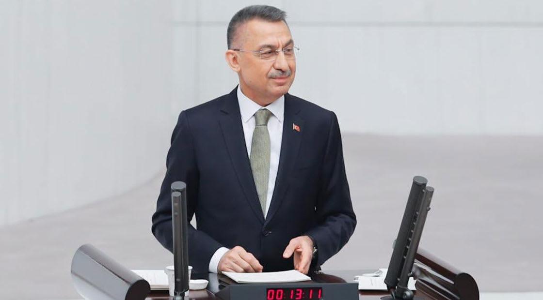 صورة أرشيفية لنائب أردوغان، فؤاد أوقطاي