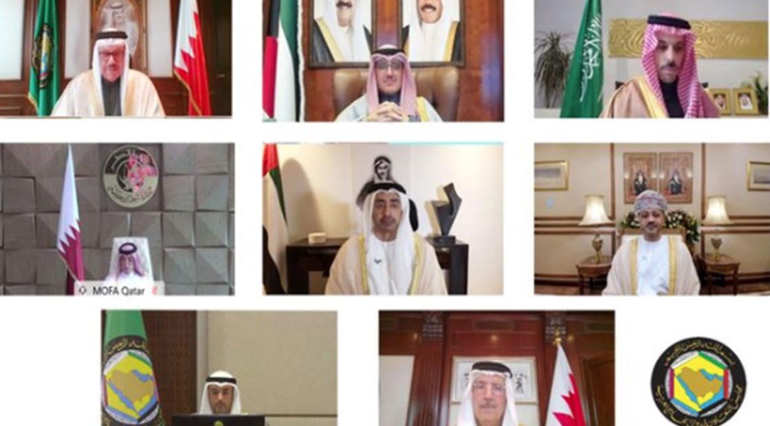 من الأجتماع الوزاري الخليجي